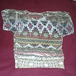 Charlotte Russe Graphic Top