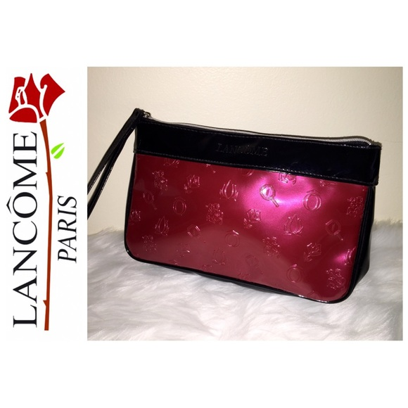 lancome nwot lanc 244 me designer cosmetic bag from s