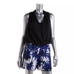 Karen Kane Dresses & Skirts - NWT⭐️Karen Kane Black Chiffon Sleeveless Romper