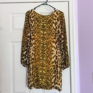 Dresses & Skirts - Animal Print Design Dress