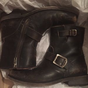 Frye Shoes - Frye Moto Boots