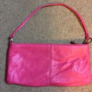 Handbags - Express Hot Pink Genuine Leather Small Handbag