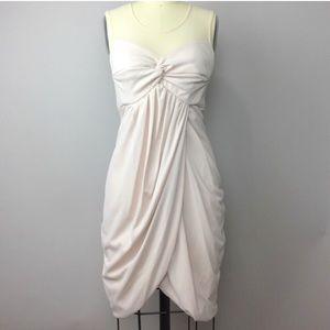 Miss Sixty Blush Draped Dress 2