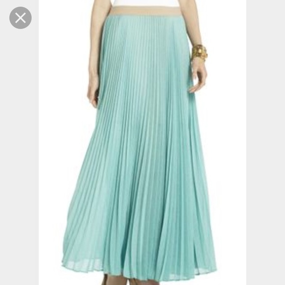 8f95009e4 BCBGMaxAzria Skirts | Bcbg Pleated Maxi Skirt | Poshmark