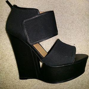 L.A.M.B. Shoes - Brand New L.A.M.B. Alphie Wedge Sandals Heels