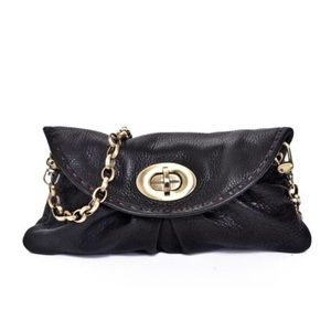 Carla Mancini Handbags - Carla Mancini Amy Black Clutch