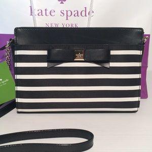 kate spade Handbags - Final!❤️NWT Kate Spade Black Bow Crossbody Bag