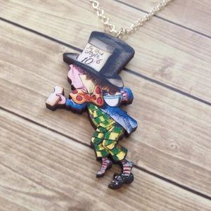 Abbie's Anchor Jewelry - Alice in Wonderland The Mad Hatter