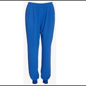 Joie Diara Crepe Jogging Pants in Blue Size XS