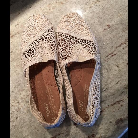 2b7ce8aafc6 TOMS Shoes - TOMS - Natural Moroccan Crochet Women s Classics