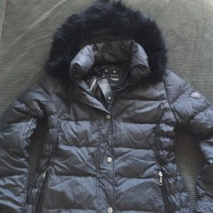 Basler Jackets & Blazers - Basler parka w/ raccoon hood (like Montcler)