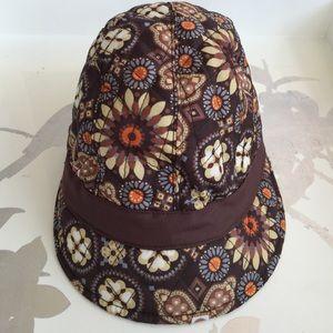 Vera Bradley Newsgirl Fleece Hat in Canyon