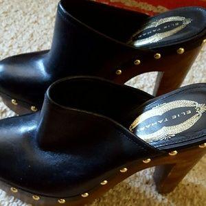 Elie tahari black heels