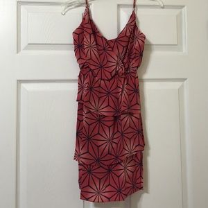 Geren Ford Dresses & Skirts - Geren  Ford Geometric Silk Dress