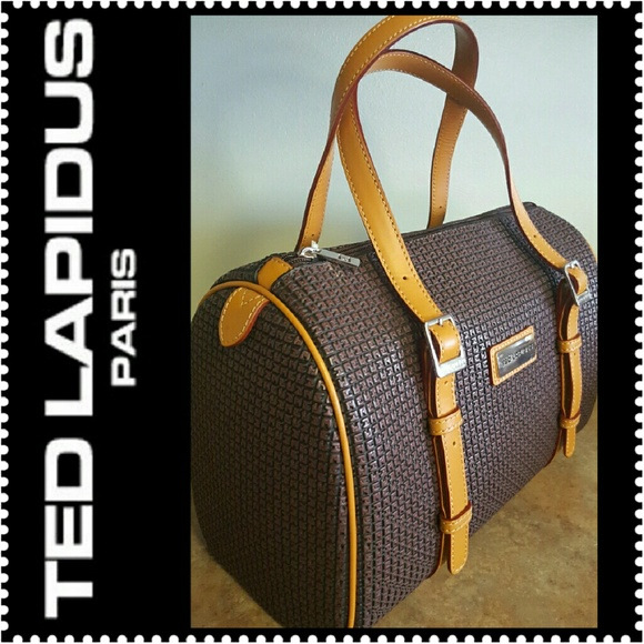5bd852573d05 🆕 Ted Lapidus Paris Leather Purse