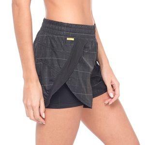 Lole Pants - NWT Lolë Gray Alana Running Shorts