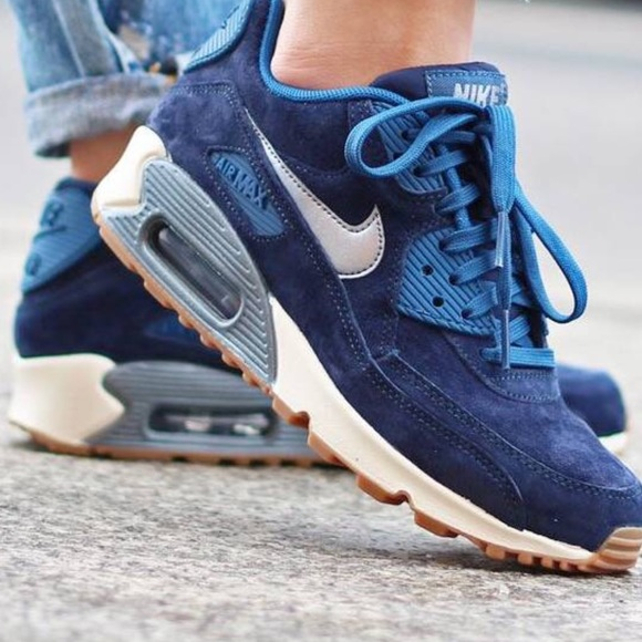 07a8fef9fdb4 Nike Air Max 90 Premium suede shoes