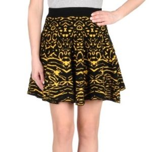 Torn by Ronny Kobo Dresses & Skirts - Torn by Ronny Kobo | Black + White Printed Skirt