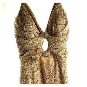 Champagne Cache gown - sz 2