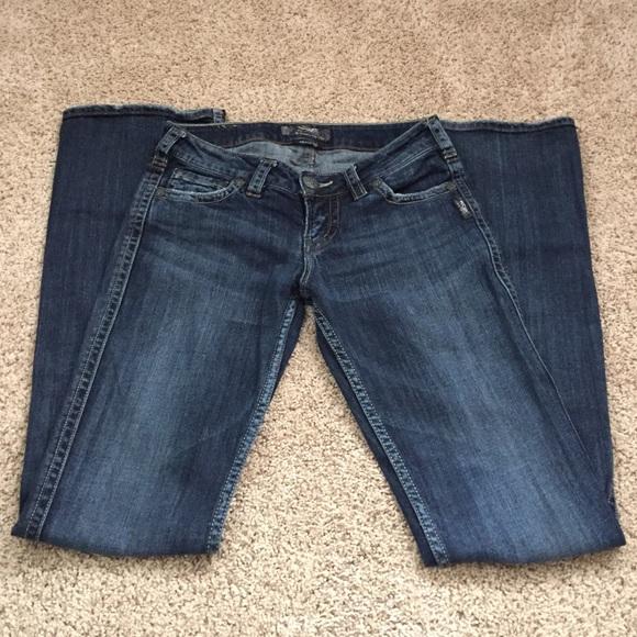 71% off Silver Jeans Denim - Silver Jeans- Frances 18&quot Size 26x35