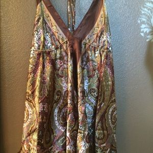 Advance apparels Tops - Halter blouse silk New, never worn.