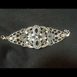 bebe Jewelry - Bebe gunmetal cuff