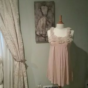Vintage Havana Tops - Vintage Havana Pink dress top
