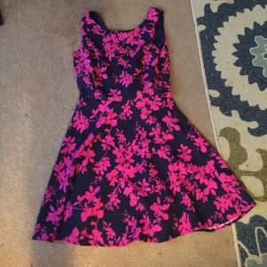 Dresses & Skirts - Navy and Pink Dress