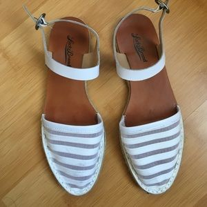 Lucky Brand Shoes - White Espadrille sandal
