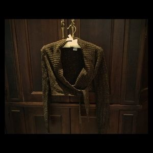 La Redoute Sweaters - Sparkly wrap-around cardigan.
