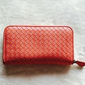 Bottega Veneta Handbags - Authentic Bottega Veneta Zip-Around Wallet