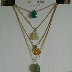 Topshop Jewelry - Beautiful New Topshop Freedom Necklace