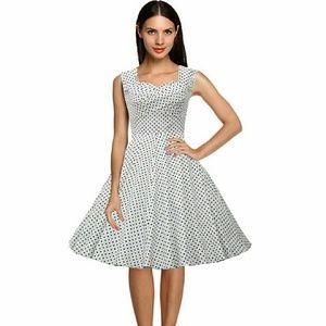 acevog Dresses & Skirts - Rockabilly polka dots dress👗👒👜🍒