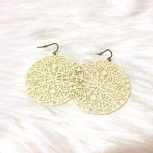 H&M Jewelry - Tribal Filigree Drop Earrings