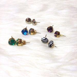 H&M Jewelry - Bundle of Colorful Stud Earrings