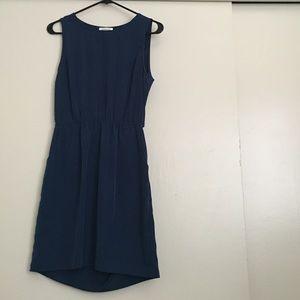 Monteau Dresses & Skirts - Minimalist Navy Blue Dress