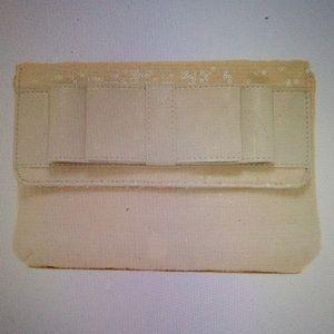 REDUCED Deux Lux  Dreamy creamy clutch NWT