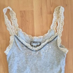 Abercrombie embellished tank top