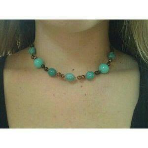 Turquoise Beaded Choker