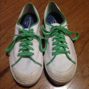 Tretorn Shoes - White Tretorn tournament T56 canvas shoes