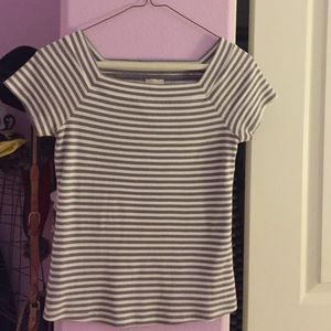 Anthropologie striped tee