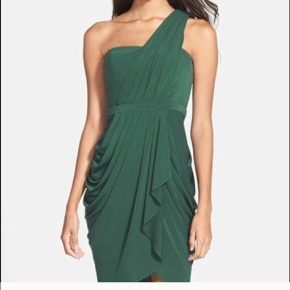 BCBGMaxAzria Dresses | Bcbg One Shoulder Grecian Dress | Poshmark
