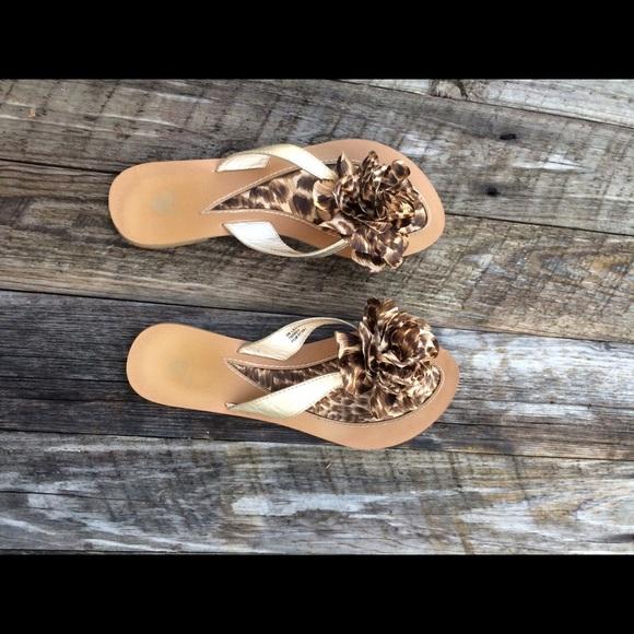 b85c8404f Aloha Island Shoes - Leopard sandals