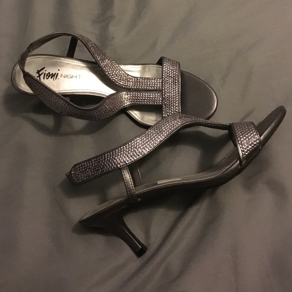 57% off Shoes - Silver one-inch heels! from Katrina's closet on ...