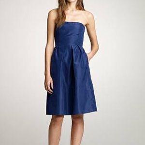 J crew silk strapless dress, 2