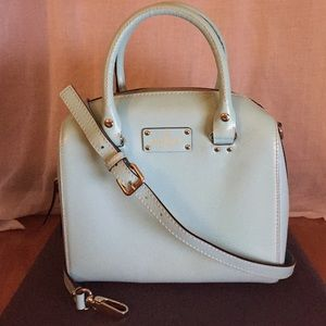Kate Spade Wellesley Alessa Leather Satchel Purse