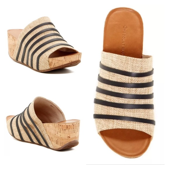 36efc3af81c2 Chocolat Blu Wedge Sandal