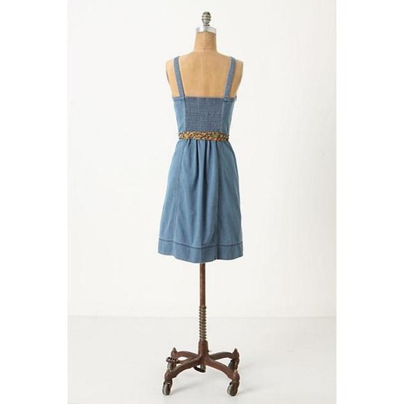 Anthropologie Dresses - Rise & Shine Denim Dress | Anthropologie