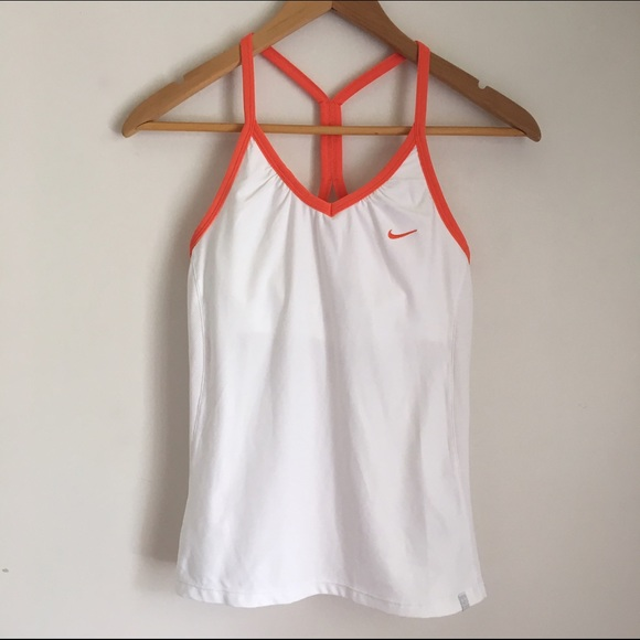 Nike nike sports tank with built in bra from stanzi for Shirts with built in sports bra