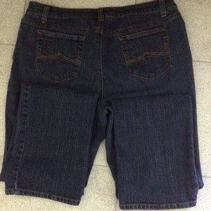 St. John's Bay Denim - St. John's Bay stretchy straight leg jeans